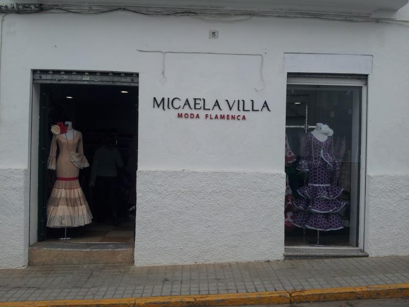 micaela villa moda flamenca textil y calzado sectores. Black Bedroom Furniture Sets. Home Design Ideas